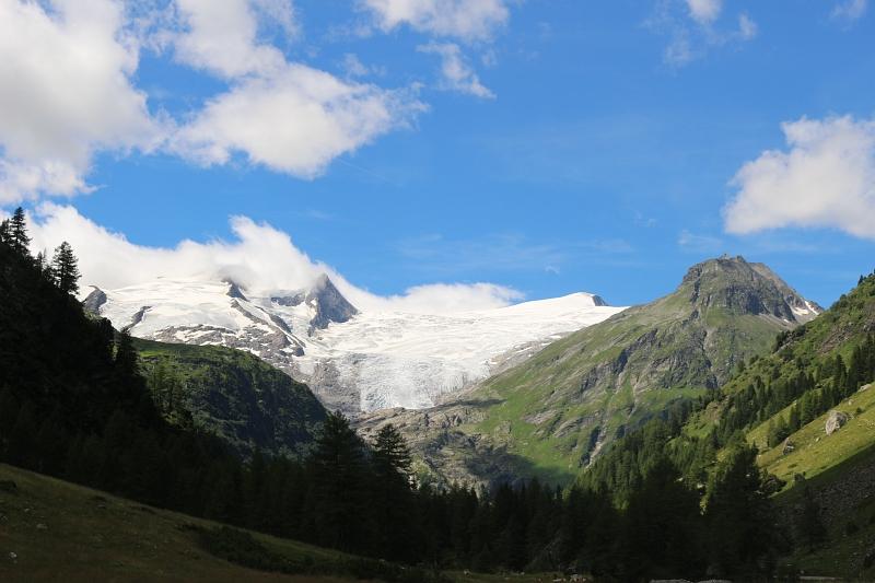 Tauerntal, Osttirol, Blick in Venedigergruppe
