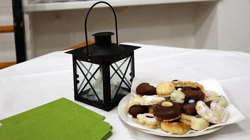 Kekse geschenkt vom Club Tirol
