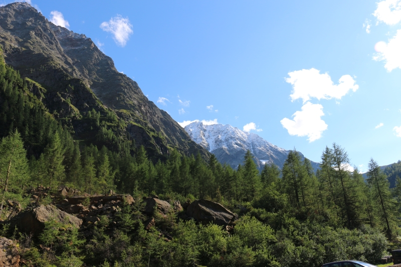 Gradental, Kärnten, Blick auf Petzeck