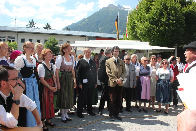 Begrüßung Obmann Martin Rainer