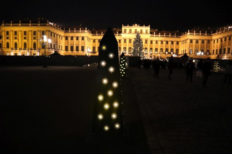 der Advent -und Weihnachtsmarkt Schönbrunn