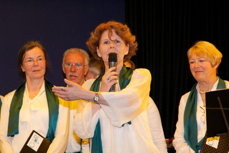 Margaretha Maleh moderiert
