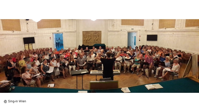10.08.2019 Sing-in Wien Workshop