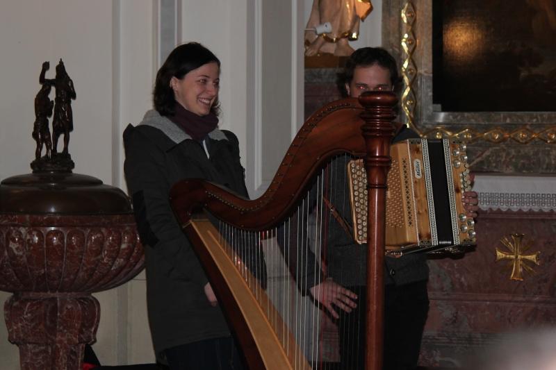 Roswitha Holzer und Mathias Marginter