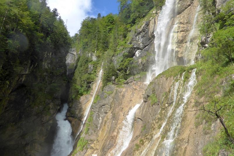 Hallstatt, Echerntal Wasserfälle, Oberösterreich
