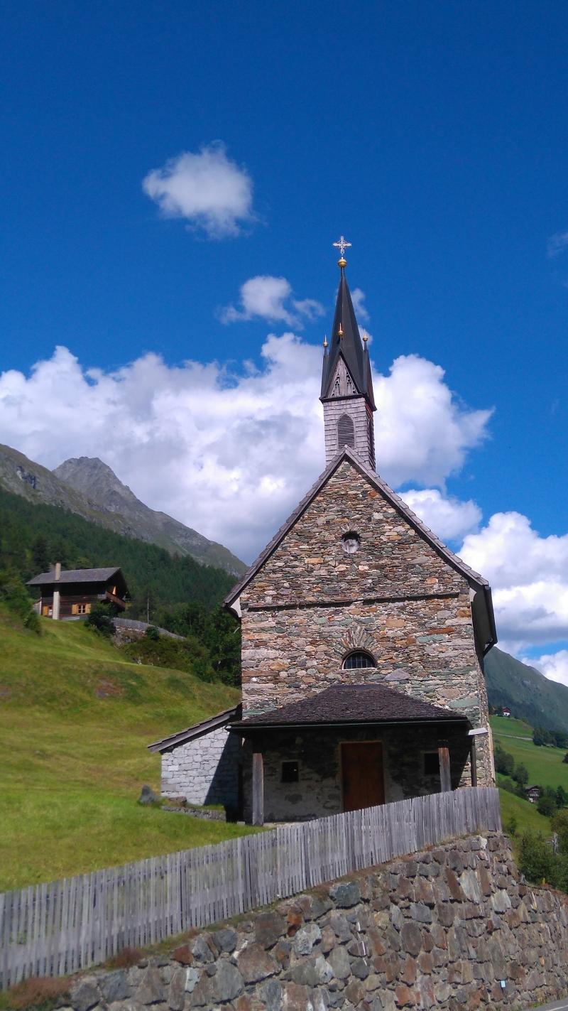 Prägraten, Osttirol, Blick zur Wunspitze
