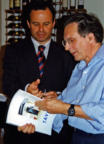 Buchpräsentation mit dem Presidénte da Câmara Municipal José Macário Correia - Bürgermeistercharme