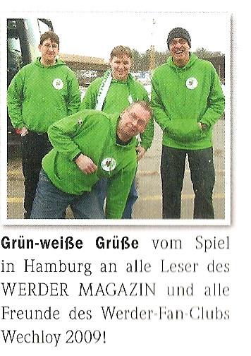 Werder Magazin 27.02.11