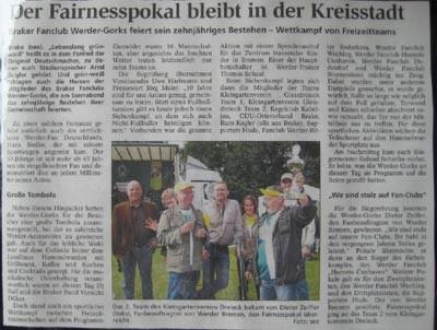 Kreiszeitung Wesermarsch 07.09.09 (anklicken)