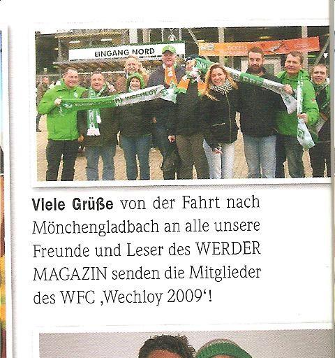 Werder-Magazin 13.11.10
