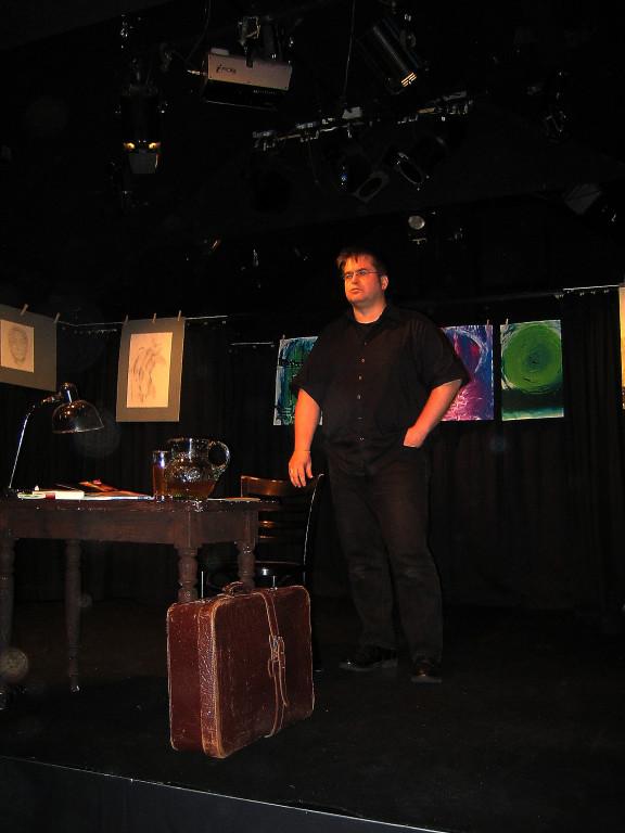 Zinnschmelze, Theater. Foto: Sonja Meisel