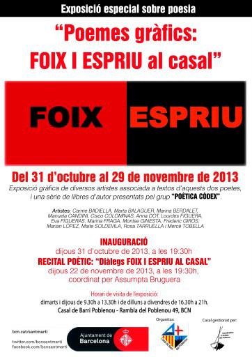 Invitation to the exhibition.