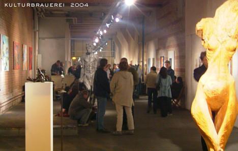 Galerie in derr Kulturbrauerei, 2004