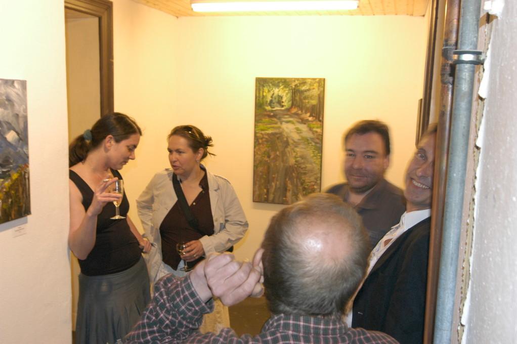 """""""Westlich was Neues"""", offene Galerie Prenzlauer Allee, Berlin, 2006"""