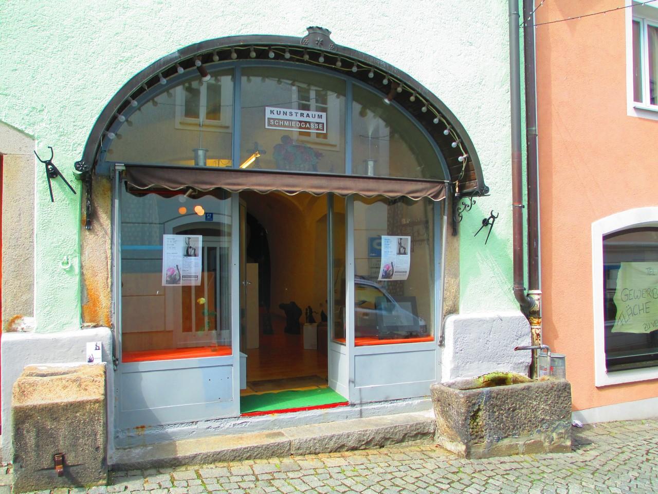 Kunstraum Schmiedgasse, Waldkirchen, 2013