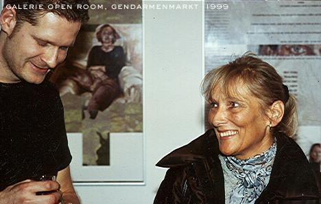 """Galerie """"open room"""", Berlin-Gendarmenmarkt, 1999"""