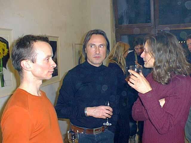 """Blauer Engel stellt aus"", Berlin-Prenzlauer Berg, 2001"