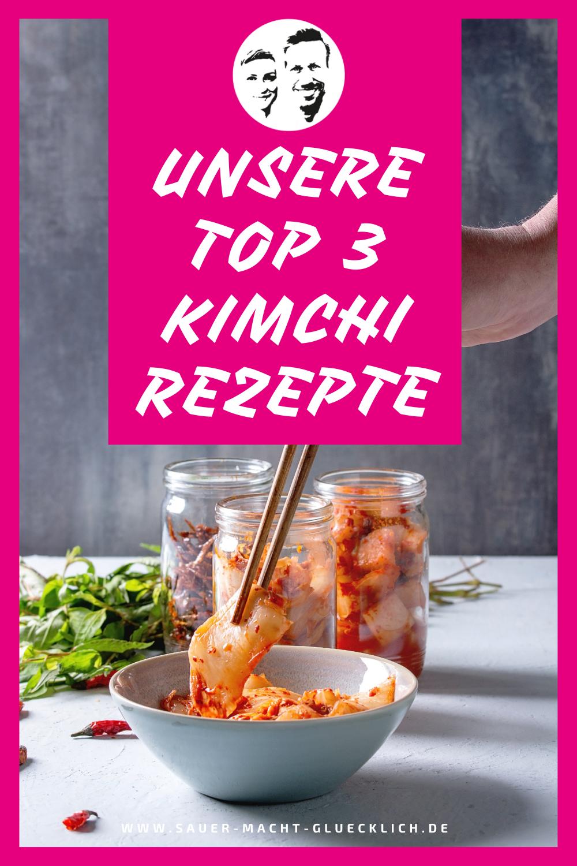 Unsere TOP 3 Rezepte mit Kimchi