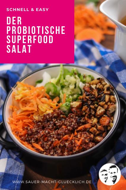 Probiotischer Superfood Salat - Schnell & Easy