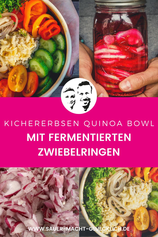 GESUND IM HERBST! Schnelle Kichererbsen Quinoa Bowl