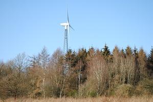 Windkraftanlage in Heisberg