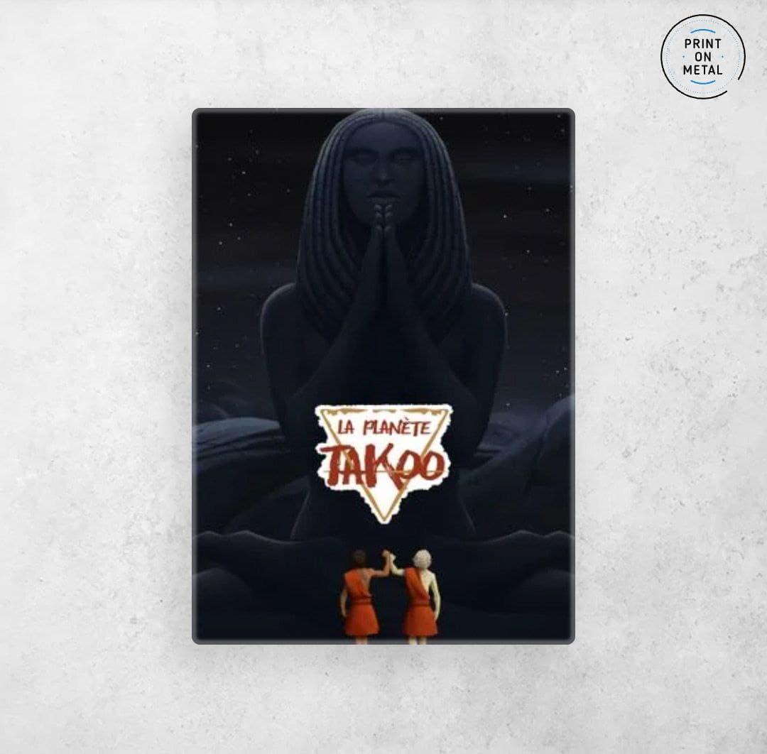 Illustration de Thioro et Thayek adolescent devant la Din sur Displate