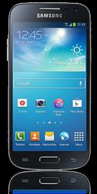 Frontansicht Samsung Galaxy S4 mini