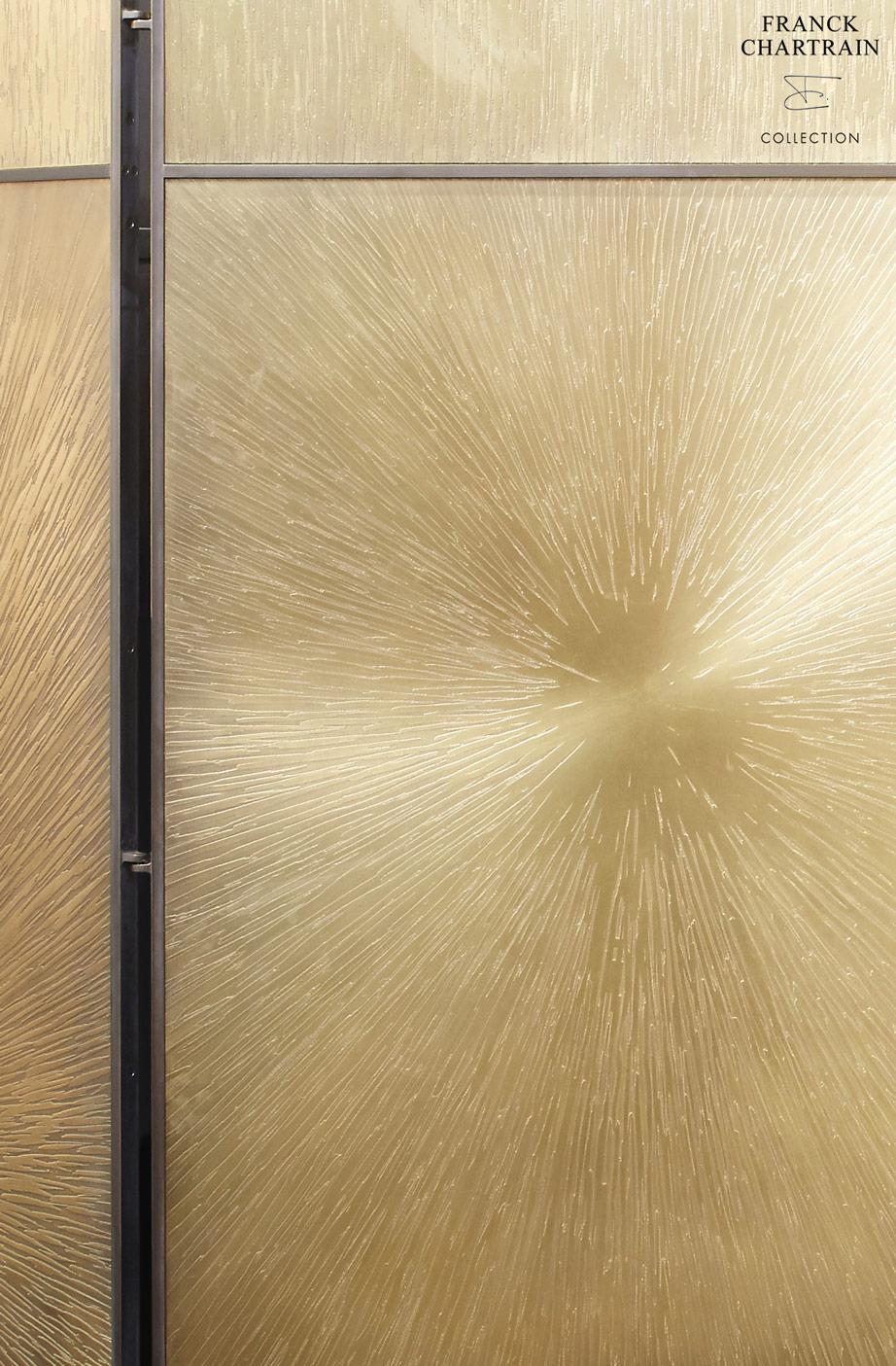 PARAVENT ASTRES Bronze texturé
