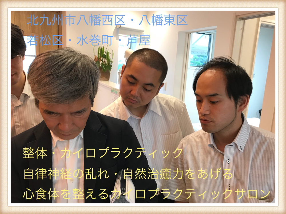 北九州市若松区の自律神経を整える整体・カイロプラクティックサロン|ひびきのカイロプラクティック(富田先生)