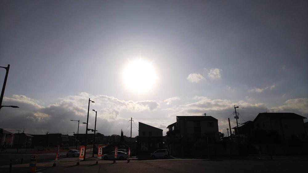 福岡県北九州市若松区ひびきのカイロプラクティックの目の前の景色