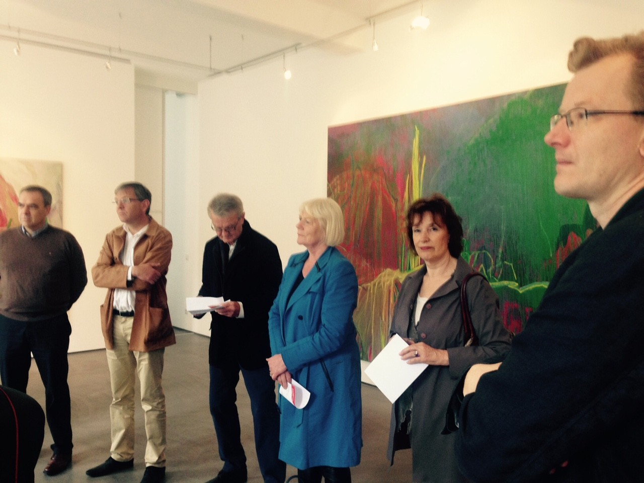 Galerienrundgang, 21.6.2015; Galerie Judith Andreae