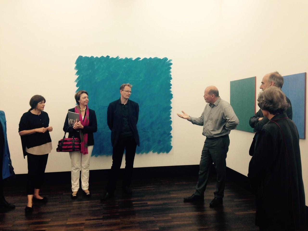Galerienrundgang, 21.6.2015; Galerie Clement & Schneider