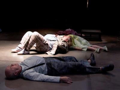 Prhoto du spectacle Les cris, de Christina Mirjol. NTH8, mise en scène Sylvie Mongin-Algan