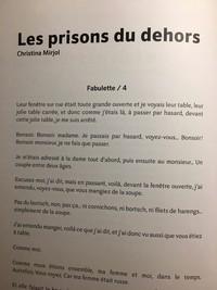 Revue, Pourtant, Pandamie, octobre 2020, Les prisons du dehors de Christina Mirjol.