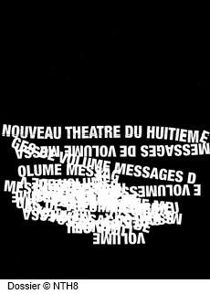 Dossier Théâtre page 1, NTH8, Les cris de Christina Mirjol