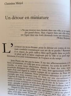 Revue, Etudes théâtrales 56/57, 2013, Passage du témoin, Autour de Jean-Pierre Sarrazac, article : Un détour en miniature.