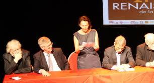 Christina Discours de Christina Mirjol lors de la remise du prix Renaissance de la nouvelle 2012 à Louvain la Neuve