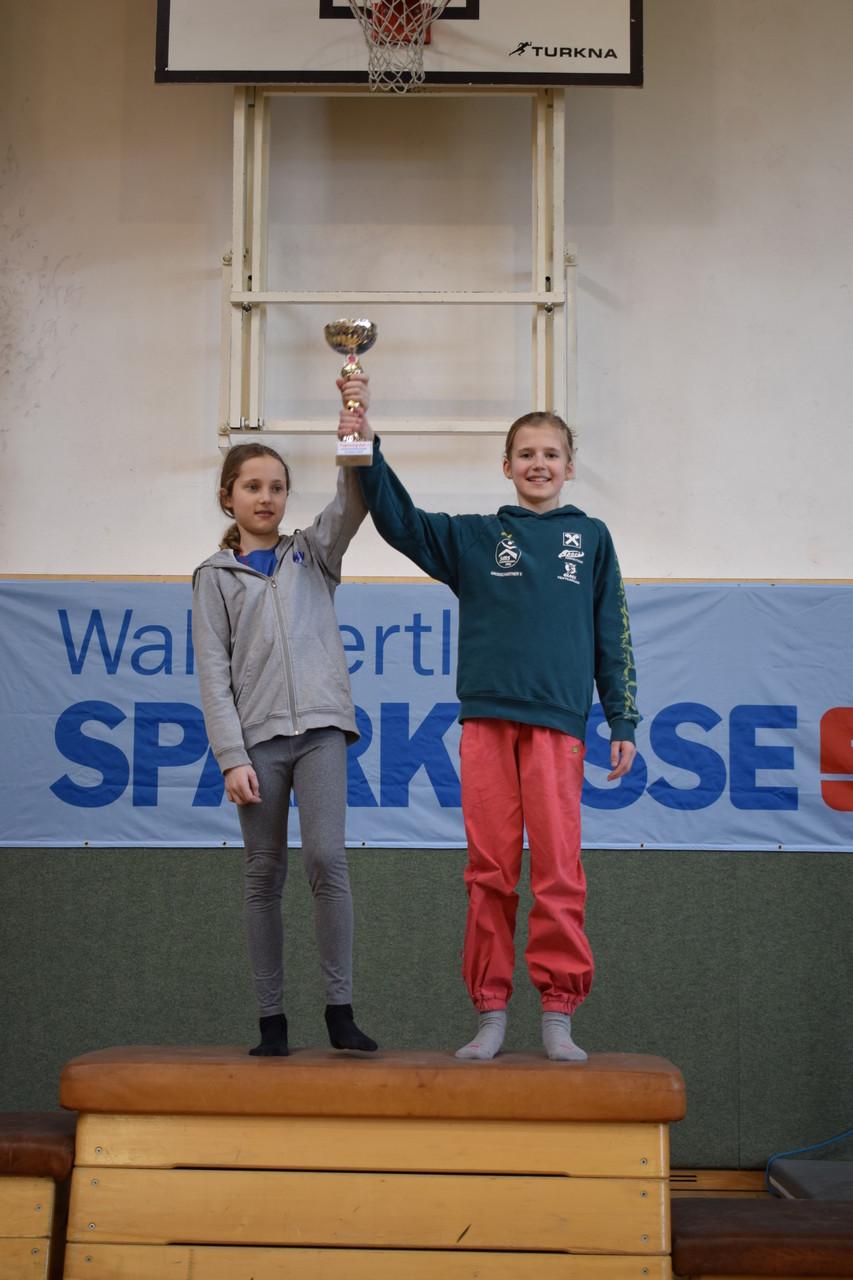 Siegerinnen Einzelwertung (Lena Losinsky ex aequo mit Valentina Großschartner)