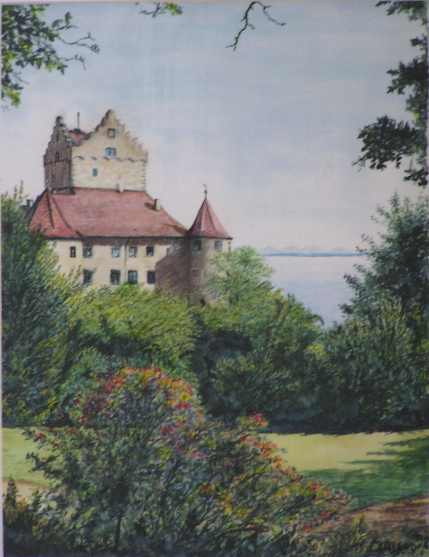 Meersburg-Altes Schloss (50 x 60)