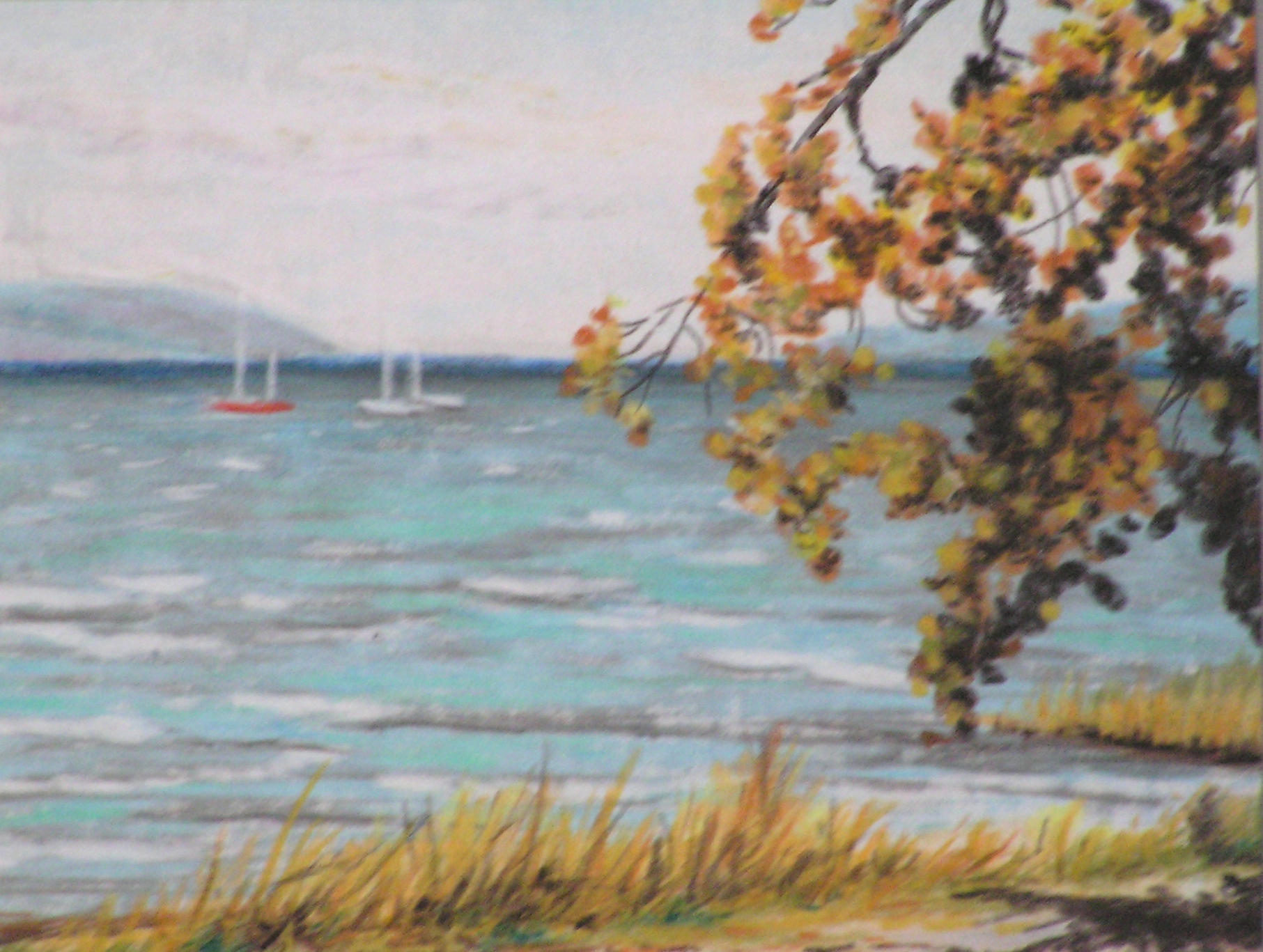 Herbststrand (1) (30 x 40)