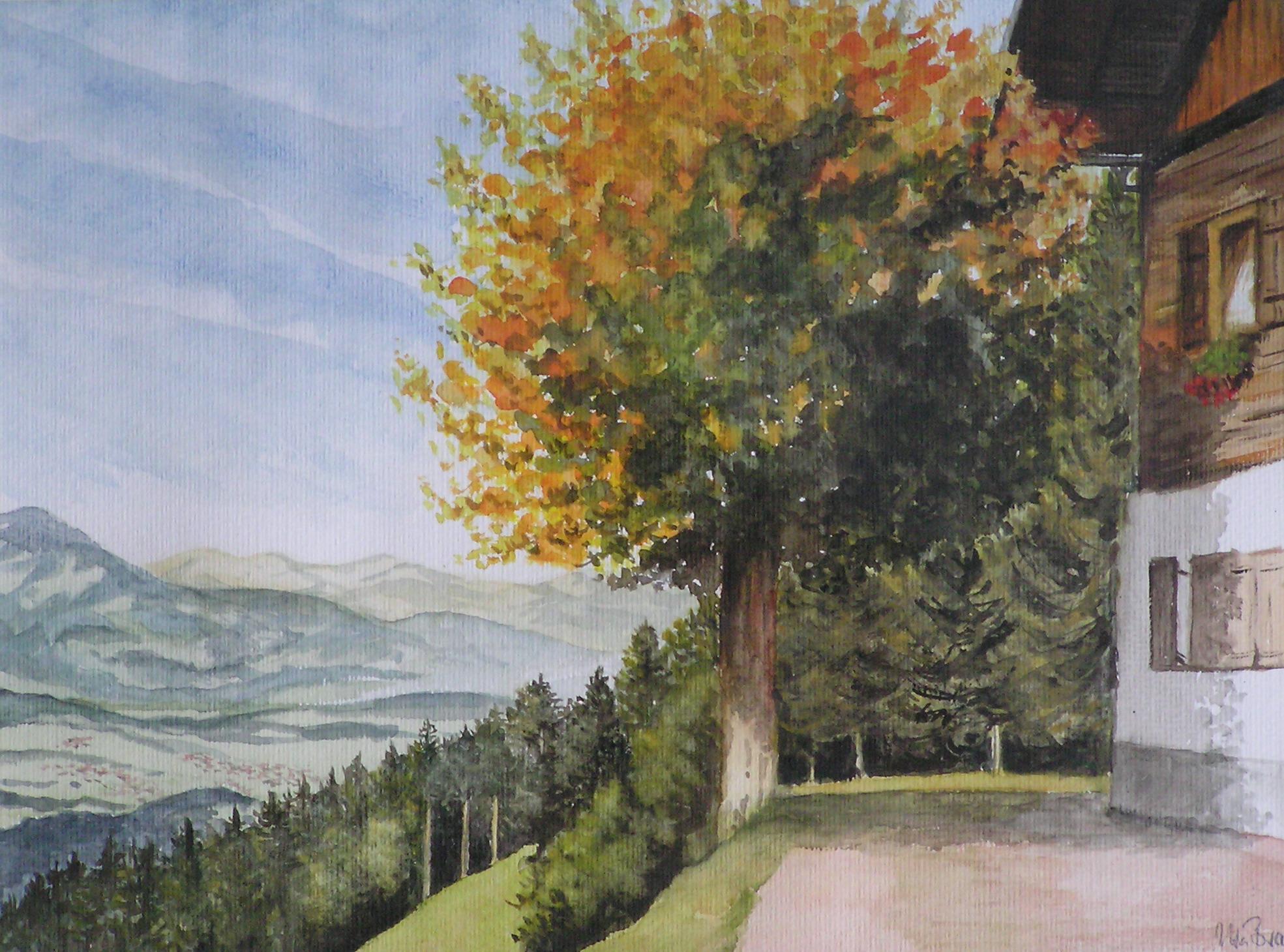 Oberstdorf- Gaisalpe (50 x 40)