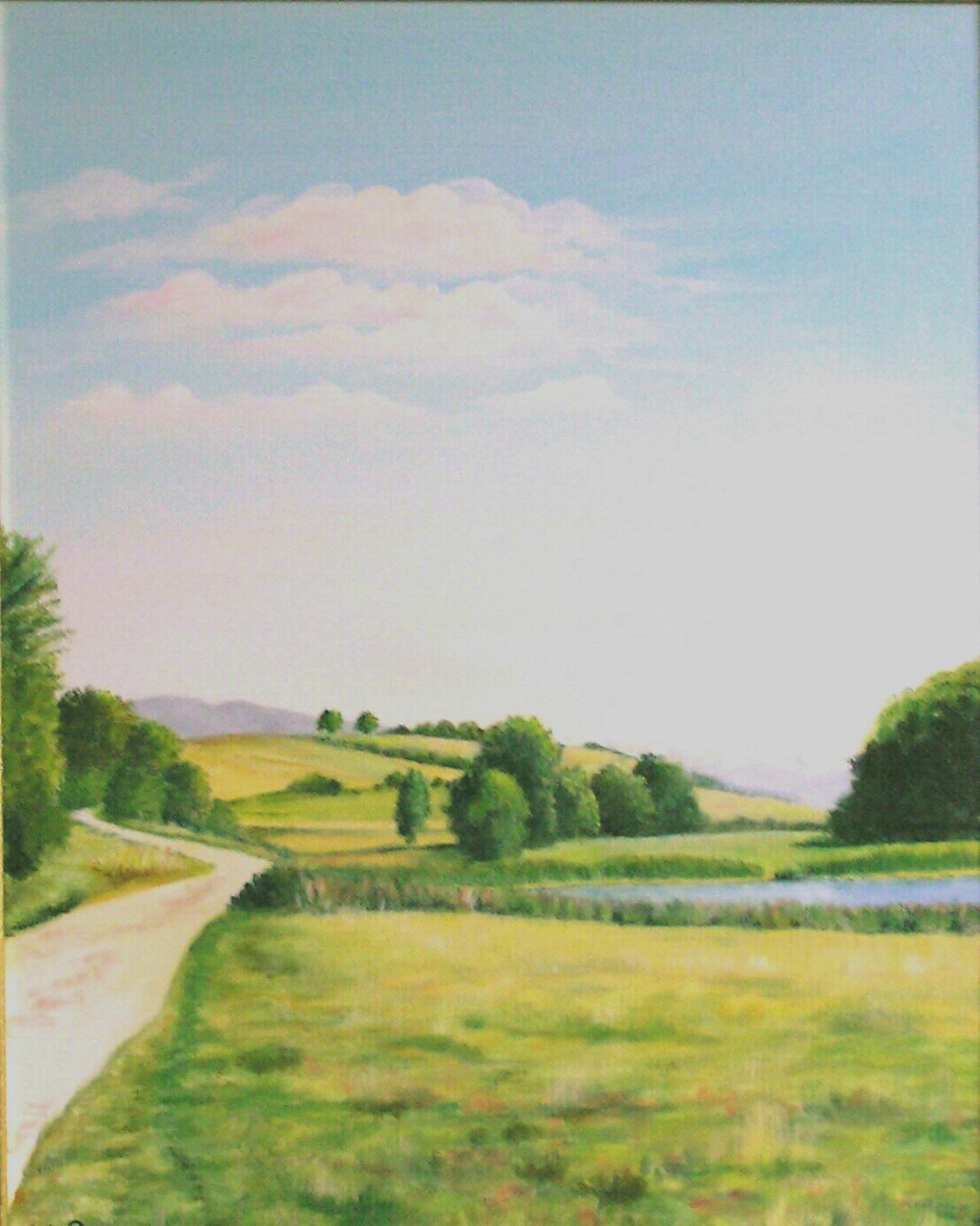Sommerwiesen-Reigen (40 x 50)