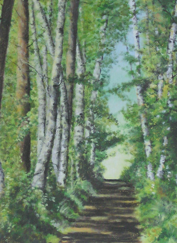 Birken-Menuett (50 x 60)