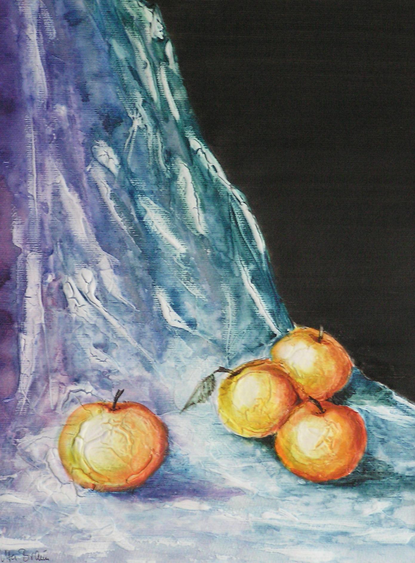 Gelbe Äpfel (40 x 50)