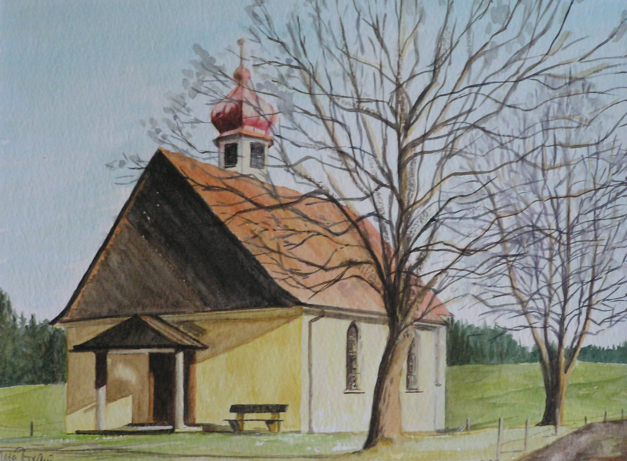 Sankt Wendelin Kapelle (50 x 40)