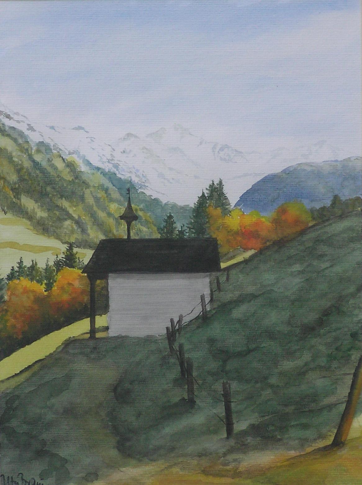 Gaisalpkapelle (40 x 50)