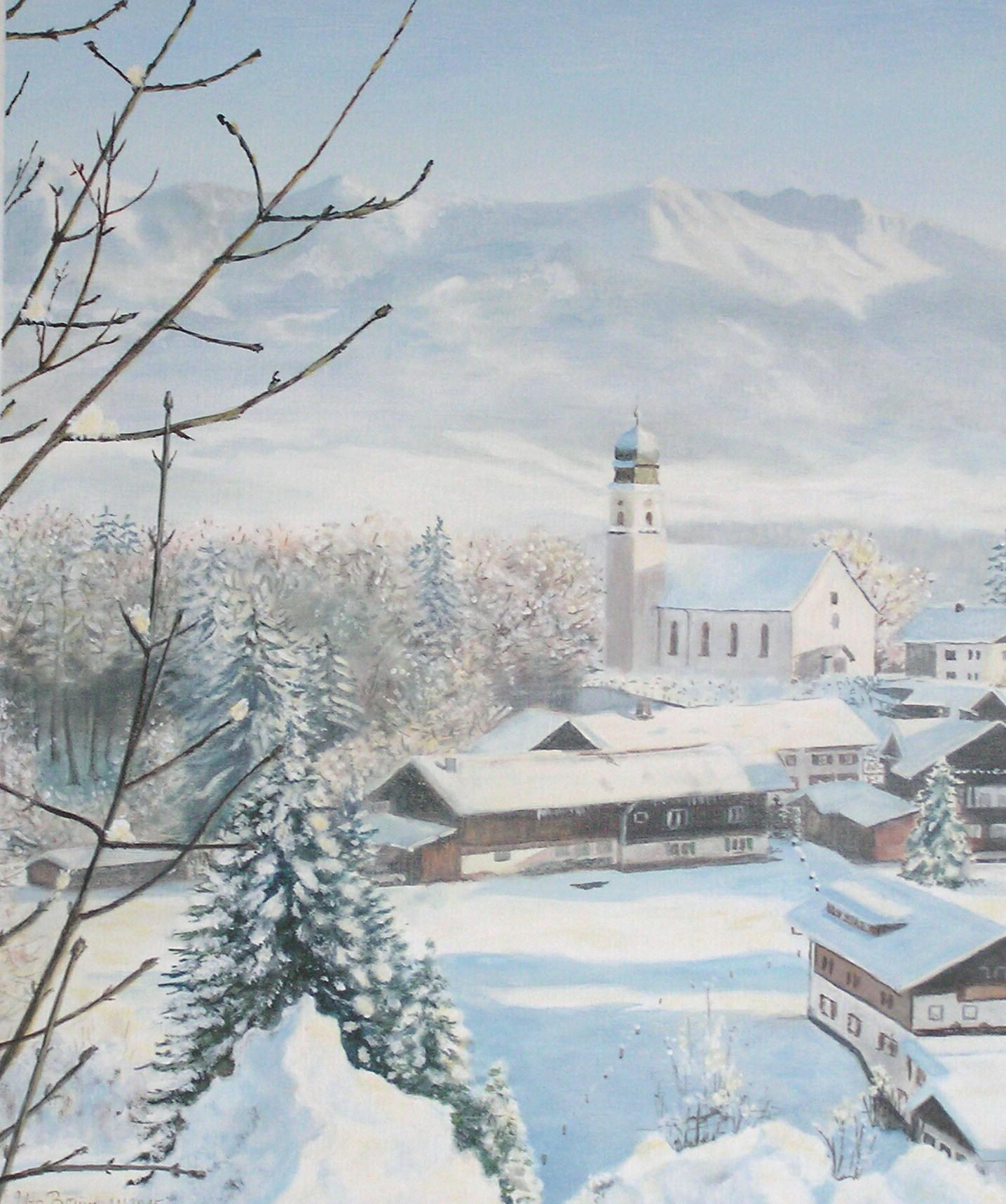 Schnee von gestern (50 x 60)
