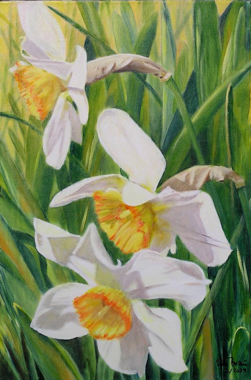 Frühlingsgruß (40 x 60)