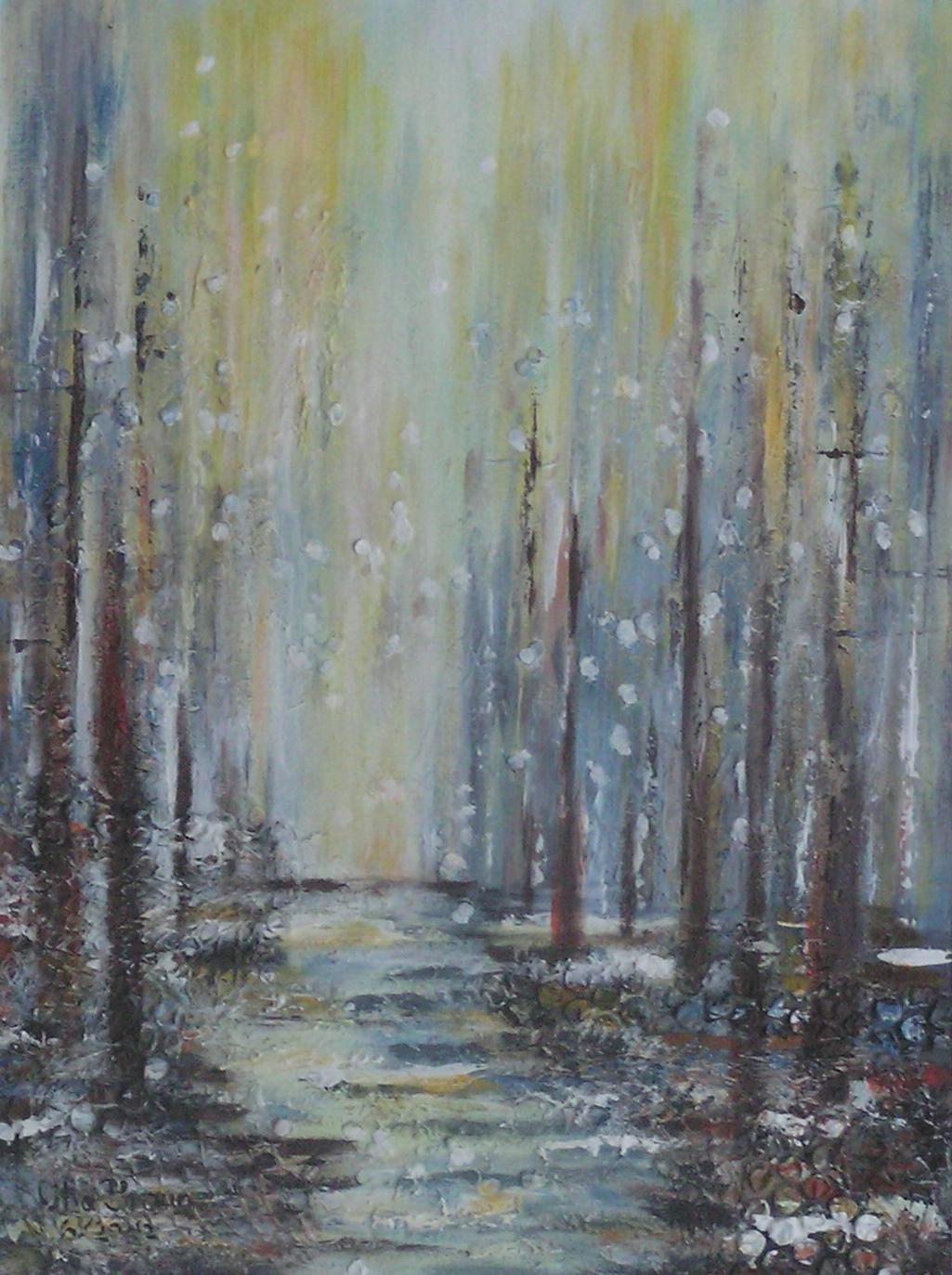 Winterweg (50 x 60)
