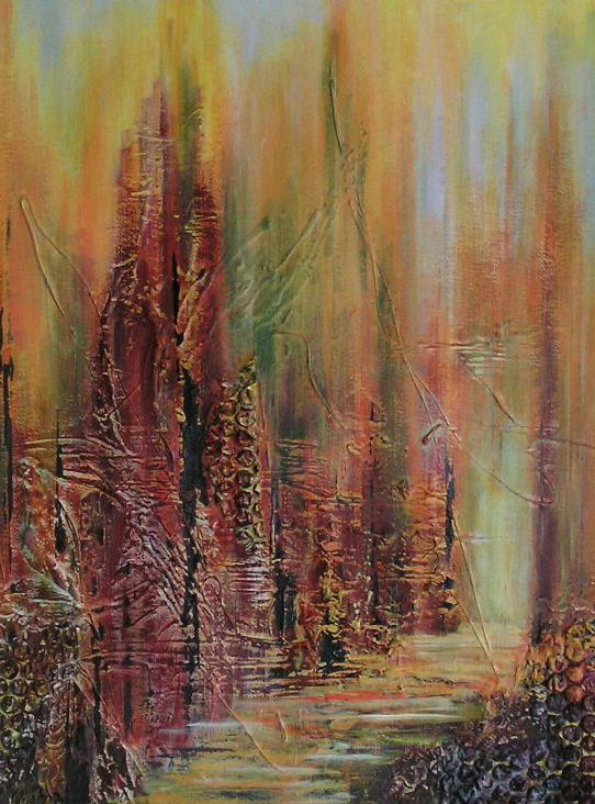 Herbstwege I (50 x 60)